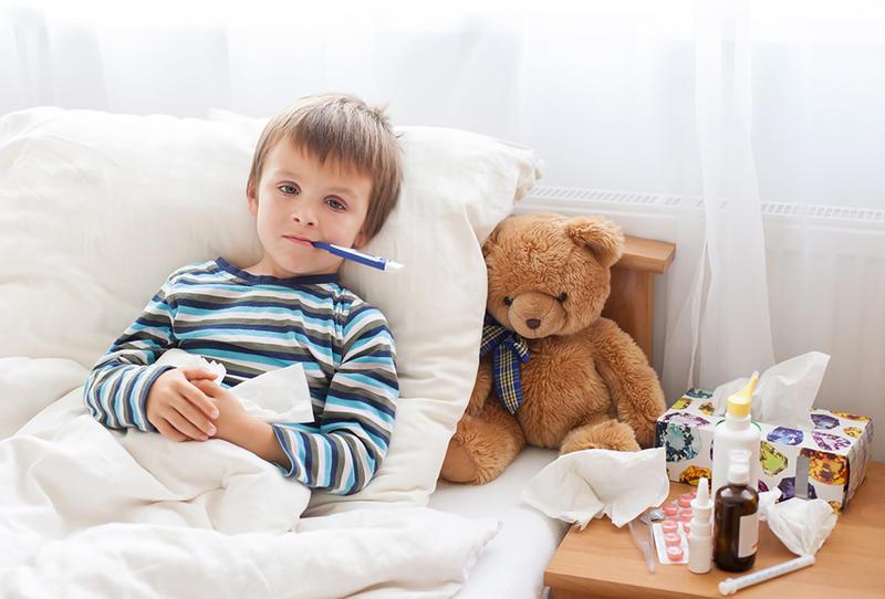 لمعاملة الطفل المريض
